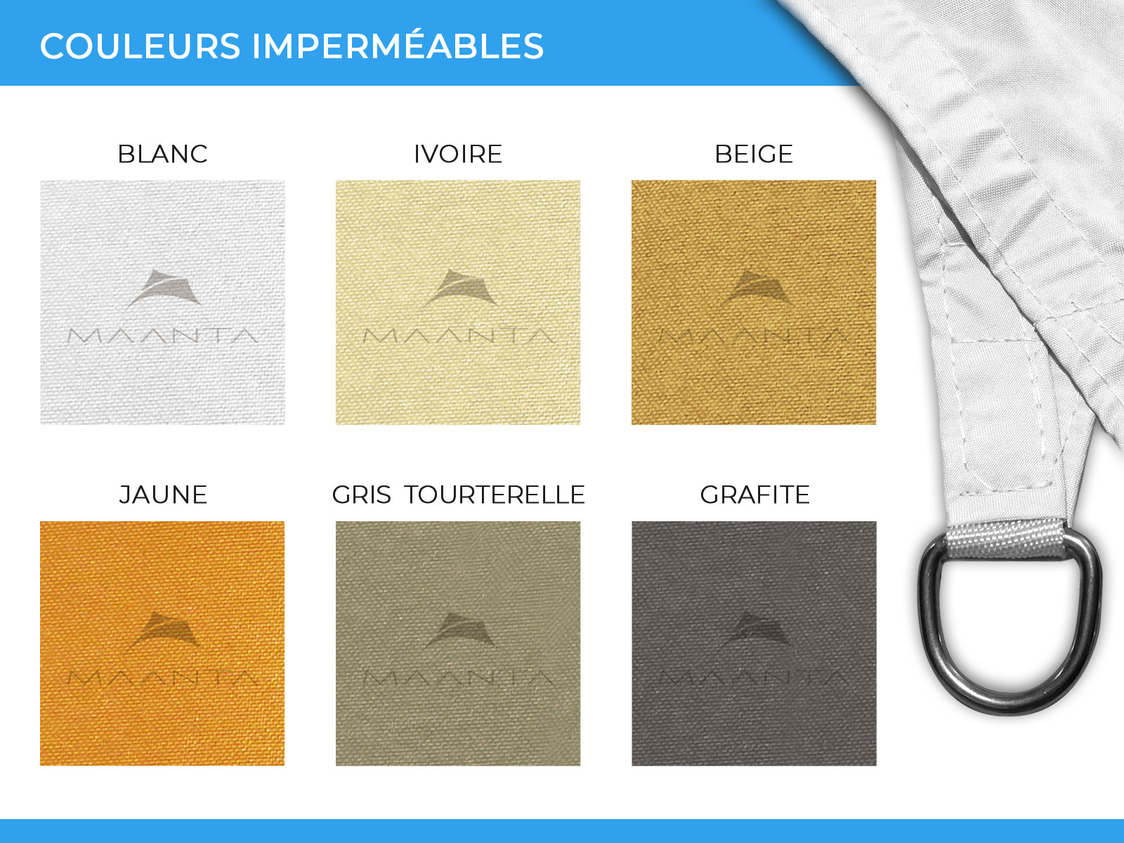 couleurs voile ombrage