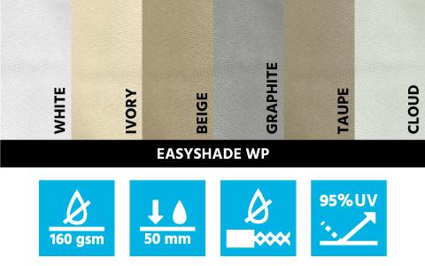 tissu polyester voiles ombrage