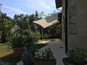 ombra tenda a vela triangolare